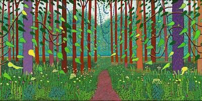 Visite guidée enfants Hockney-Van Gogh au musé