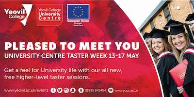 Social Work, Degree-Level Qualification: Taster Session (June)