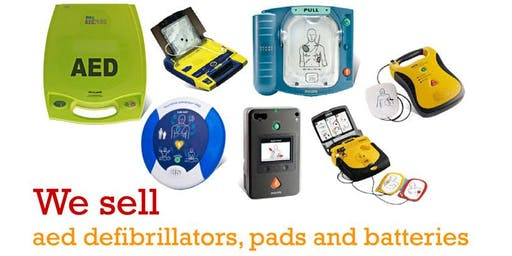 Where to buy the best aeds defibrillators batteries and pads