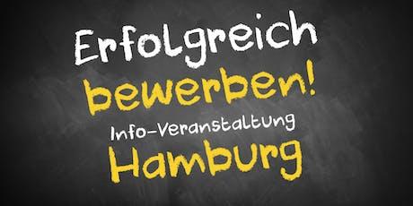 Bewerbungscoaching Infoveranstaltung Hamburg Tickets