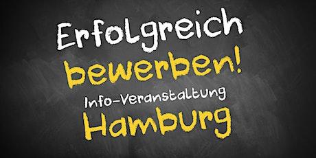 Bewerbungscoaching Infoveranstaltung AVGS Hamburg Tickets