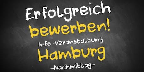 Bewerbungscoaching Infoveranstaltung Hamburg - Nachmittag Tickets