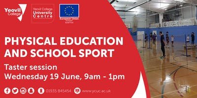 Physical Education and School Sport, Degree-Level Qualification: Taster Session (June)