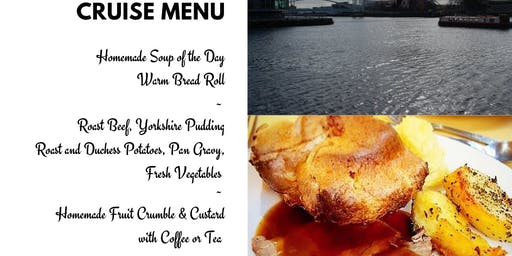 Sunday Lunch Cruise (3 Course Lunch & Boat Tour)