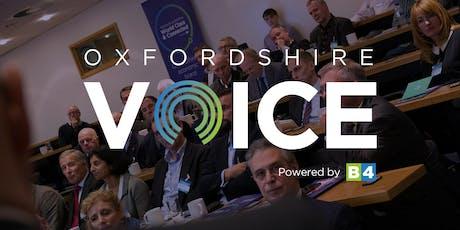 November Oxfordshire Voice Forum tickets