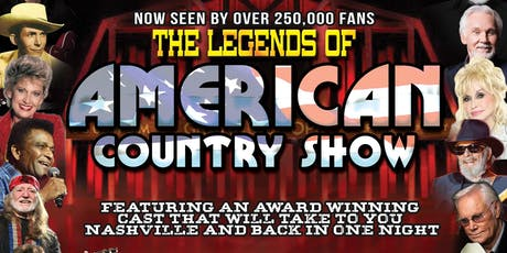 The Legends of American Country Show tickets