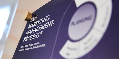 BAW MMP-Update: Der kompakte 1-Täger zum Marketing-Management. Tickets