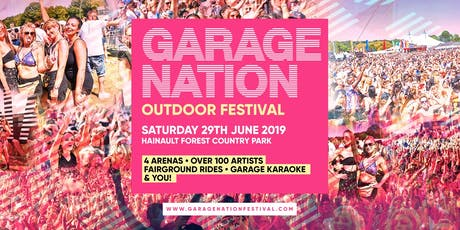 Garage Nation Outdoor Festival tickets