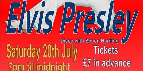 Barry Paul as Elvis Presley ~ 20th July tickets