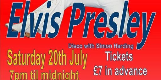 Barry Paul as Elvis Presley ~ 20th July