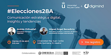 #Elecciones28A Comunicación estratégica digital, insights y tendencias tickets