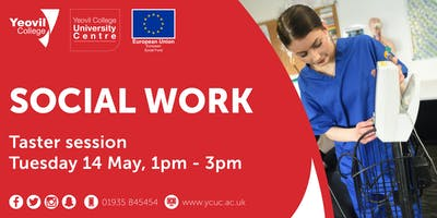 Social Work, Degree-Level Qualification: Taster Session (May)