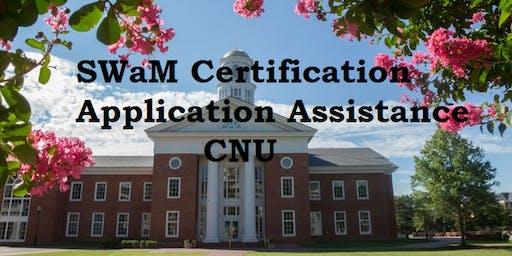 SWaM Certification Application Assistance (June 2019)