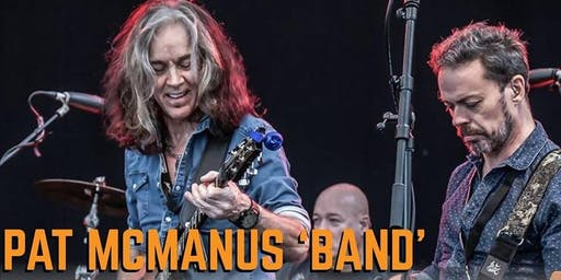 Sandinos Presents The Pat McManus Band + Support