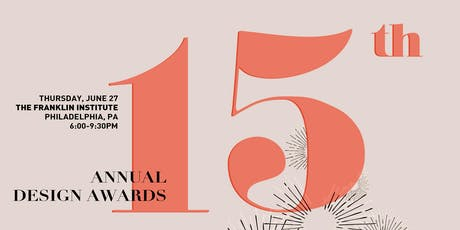 15th Annual Design Awards - Sponsorships tickets