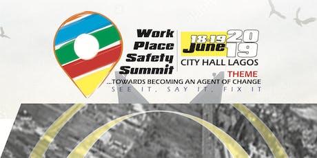 Workplace Safety Summit 2019 tickets