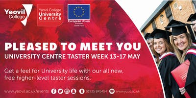 Agile Software Design, Degree-Level Qualification: Taster Session (June)