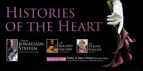 Histories of the Heart - Jonathan Steffen, Roland Gallery, Evelyn Nallen tickets