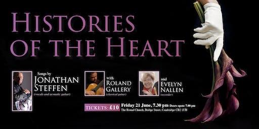 Histories of the Heart - Jonathan Steffen, Roland Gallery, Evelyn Nallen