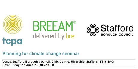 Seminar: Planning for climate change - Stafford tickets