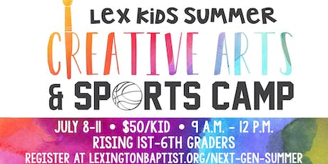 LexKids Summer Creative Arts and Sports Camp tickets
