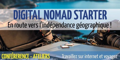 Digital Nomad Starter (Édition 2019)- 14 & 15 septembre tickets