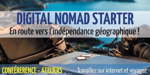 Digital Nomad Starter (Édition 2019)- 14 & 15 septembre