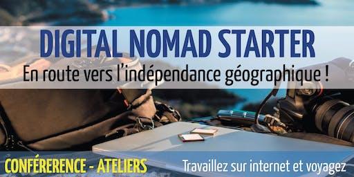 Digital Nomad Starter (Édition 2019)- 14 & 15 septembre