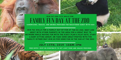 Family Fun Day at the Zoo