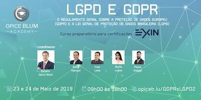 LGPD e GDPR: imersão em proteção de dados prepa