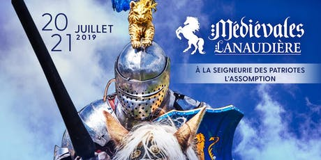 Médiévales Lanaudière 2019 - 1 Jour tickets