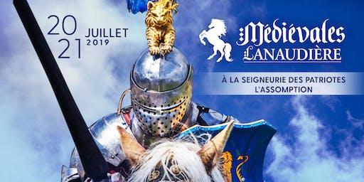 Médiévales Lanaudière 2019 - 1 Jour