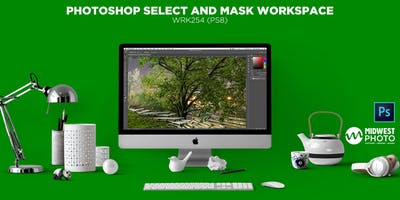 Photoshop Select And Mask Workspace-WRK254 (PS08)