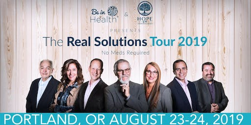 Real Solutions Tour- August 2019-Portland, OR