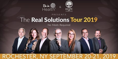 Real Solutions Tour- September 2019- Rochester, NY tickets