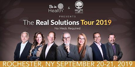 Real Solutions Tour- September 2019- Rochester, NY entradas