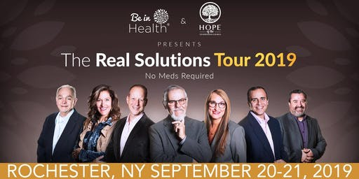 Real Solutions Tour- September 2019- Rochester, NY