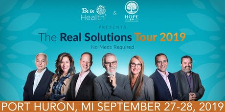 Real Solutions Tour-September 2019- Port Huron, MI tickets
