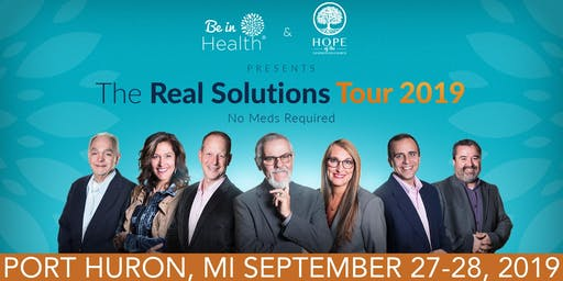 Real Solutions Tour-September 2019- Port Huron, MI