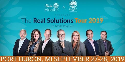 Real Solutions Tour-September 2019- Port Huron, MI