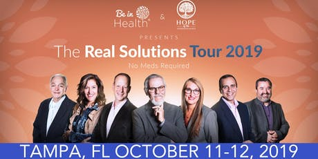 Real Solutions Tour- October 2019- Tampa, FL entradas
