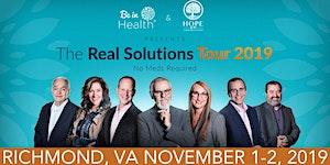 Real Solutions Tour: November 2019 Richmond, VA