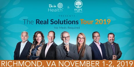 Real Solutions Tour: November 2019 Richmond, VA tickets
