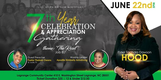 LMD 7th Year Celebration and Appreciation Gathering