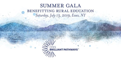 CFES Brilliant Pathways Summer Gala to Benefit Rural Students