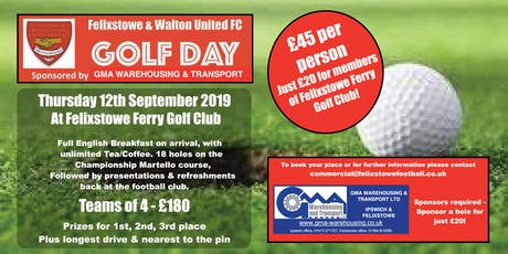 Seasiders Golf Day tickets