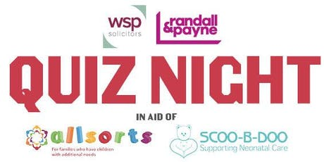 Charity Quiz Night - Hosted by WSP Solicitors and Randall & Payne tickets