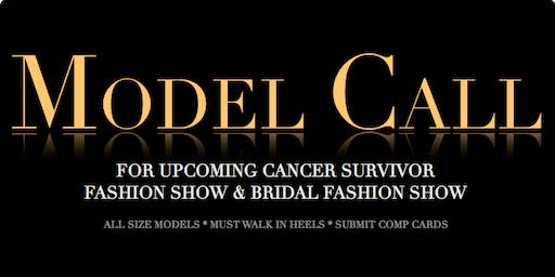 Model Call Upcoming Fashion Show
