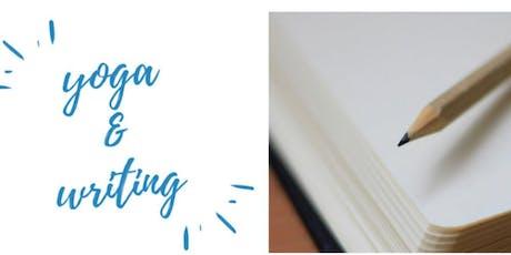 Yoga + Writing with Rita tickets