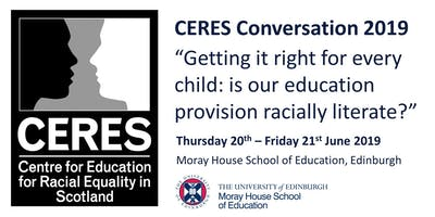 A CERES Conversation 2019 - Friday Ticket Only